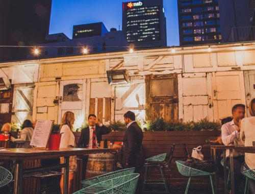 Open Air Bar Melbourne