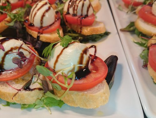 bruschetta at Campari