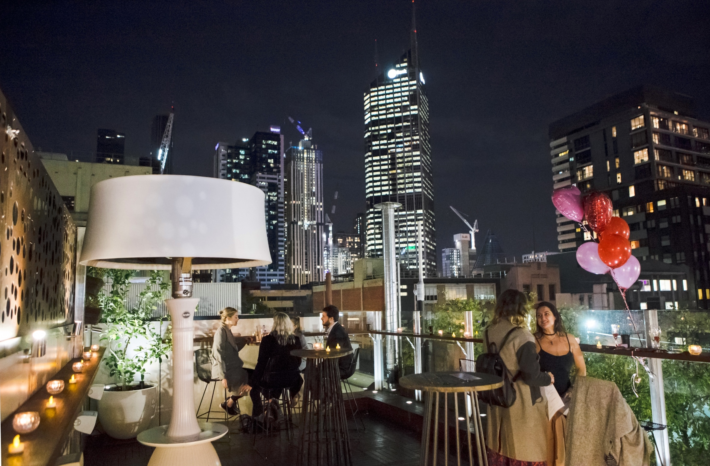 Rooftop Bar On Hardware Lane In Melbourne Melbourne Cbd