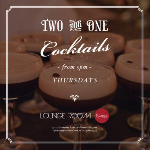 cocktail bar specials