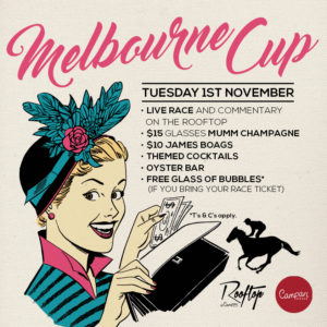 Melbourne Cup, Spring Carnival, Races, Horse Racing, Live, Rooftop, Rooftop Bar, Campari House