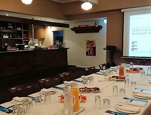 Corporate Breakfast at Campari