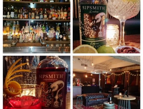 Sipsmith Gin at Campari House