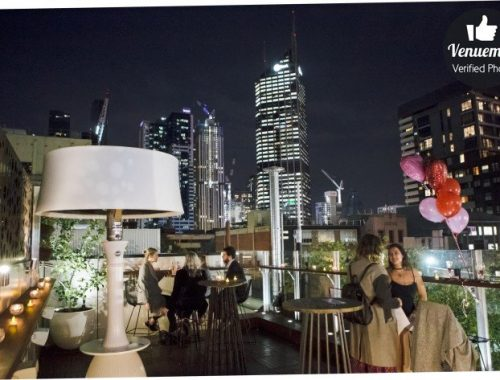 campari rooftop bar views Melbourne CBD