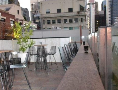 rooftop bar hire