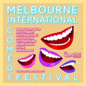 Melbourne International Comedy Festival Campari House