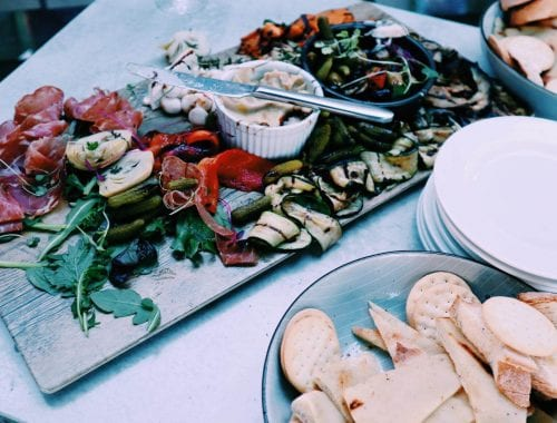 snack on wedding