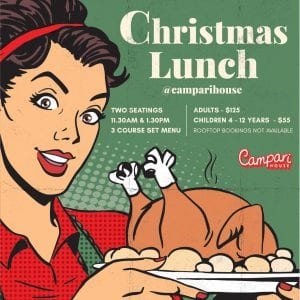 Melbourne Christmas Lunch Offer